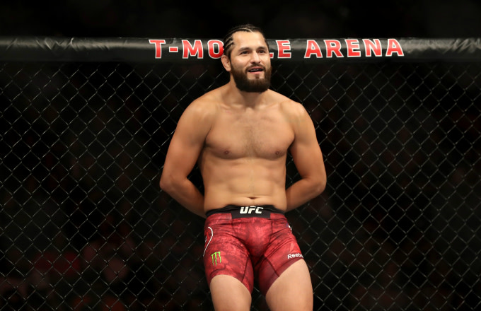 Jorge Masvidal of the United States looks on during a UFC 239