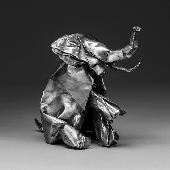 jlin-black-origami
