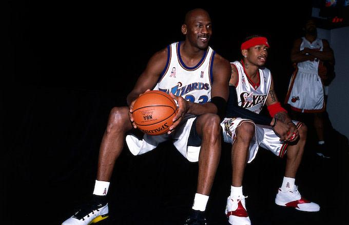 Michael Jordan, Allen Iverson