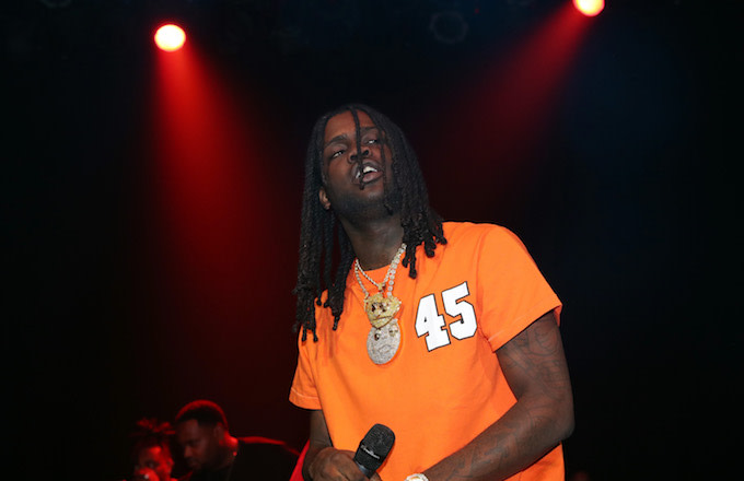 Chief Keef performing in New York City.