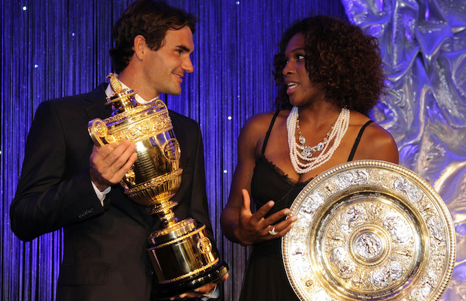 Roger Federer, Serena Williams