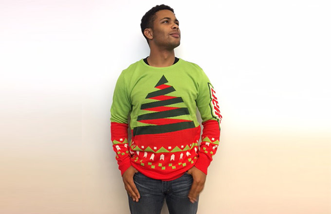 Christmas Cardigan Sweaters.The History Of The Ugly Christmas Sweater Complex