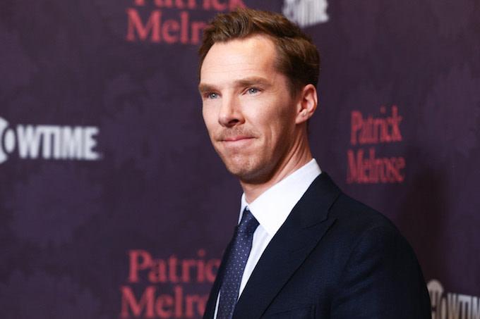 Benedict Cumberbatch in LA