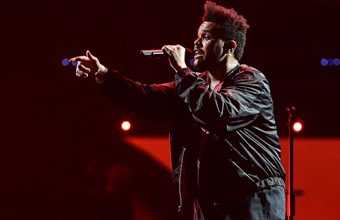 Singer/Songwriter The Weeknd performs in support of the Starboy: Legend of the Fall