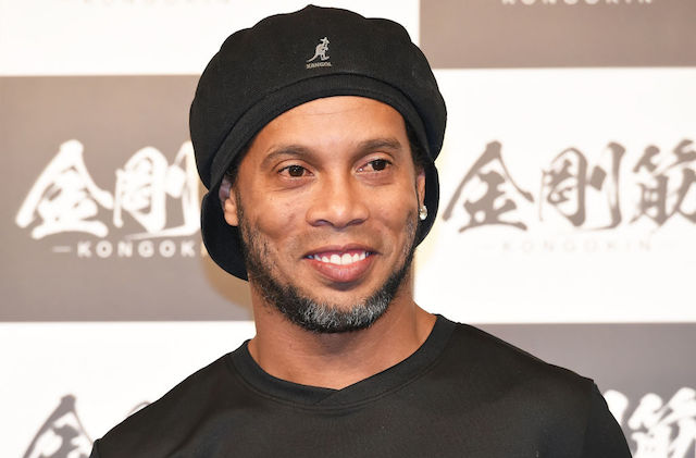 This is a picture of Ronaldinho.