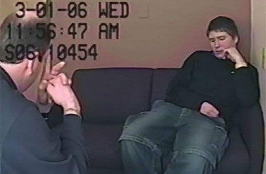 Brendan Dassey's confession tape from 'Making a Murderer.'