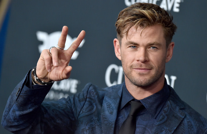 Chris Hemsworth attends the World Premiere of 'Avengers: Endgame.'