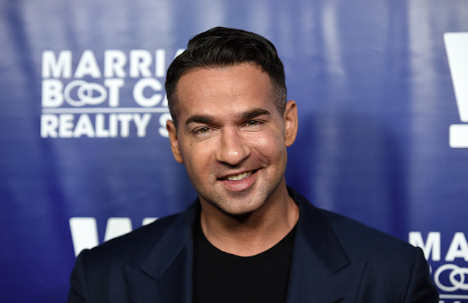 Mike 'The Situation' Sorrentino arrives at the Premiere Party