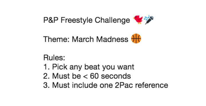 freestyle challenge 1