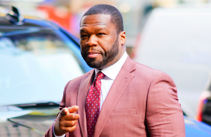 Curtis '50 Cent' Jackson at GMA on May 9, 2019 in New York City
