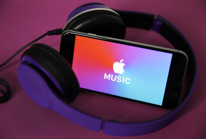 Apple Music phone