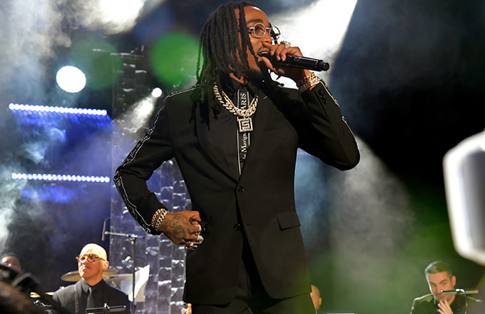 This is a photo of Quavo.