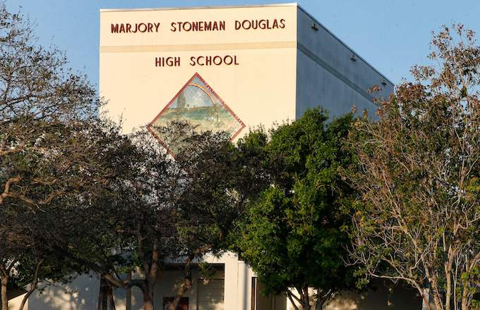 Marjory Stoneman Douglas High School.