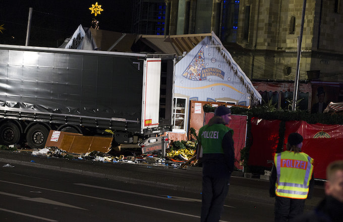 Berlin Xmas market attack