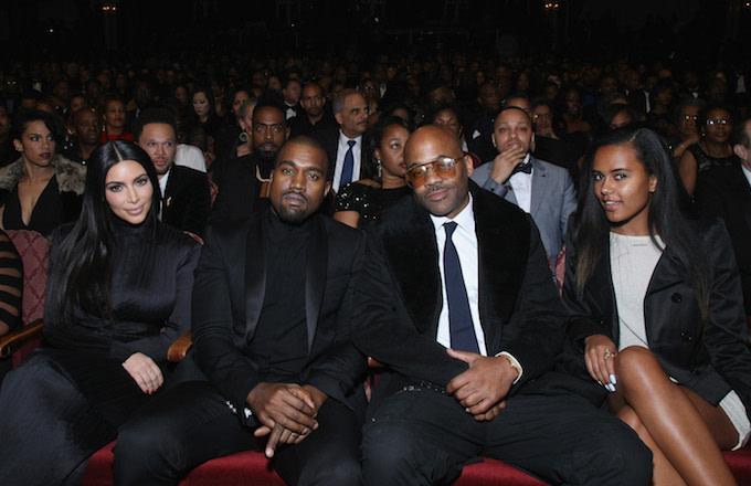 Kanye West Held a Special Screening of Dame Dash's 'Honor Up