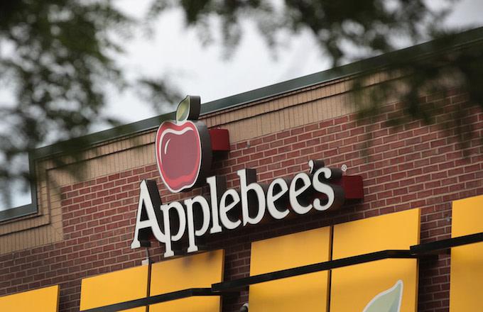 An Applebee's restaurant.