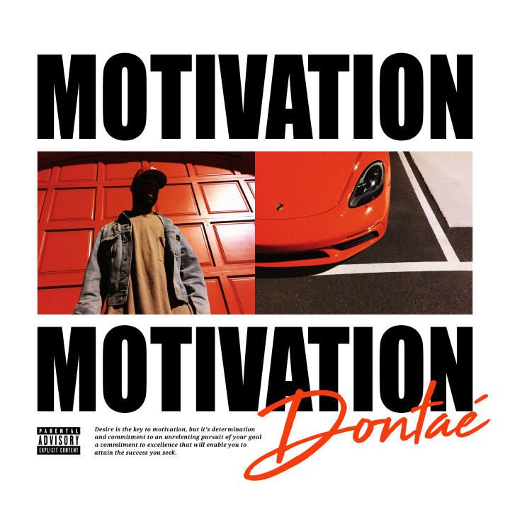 Dontaé - Motivation Cover