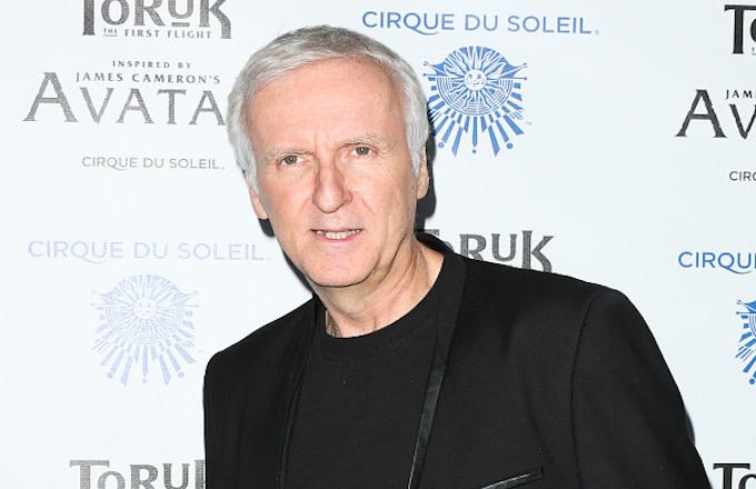 James Cameron attends the opening night of Cirque du Soleil's 'Toruk The First Flight'