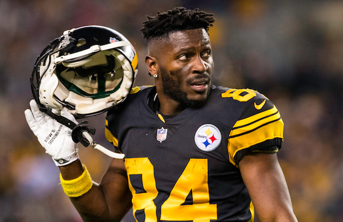 Antonio Brown Calls Steelers Bills Trade Report Fake News