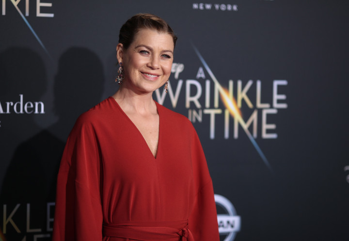 This is a photo of TV actress Ellen Pompeo.