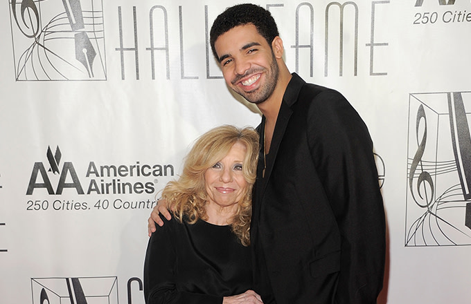 Drake and his Mom.