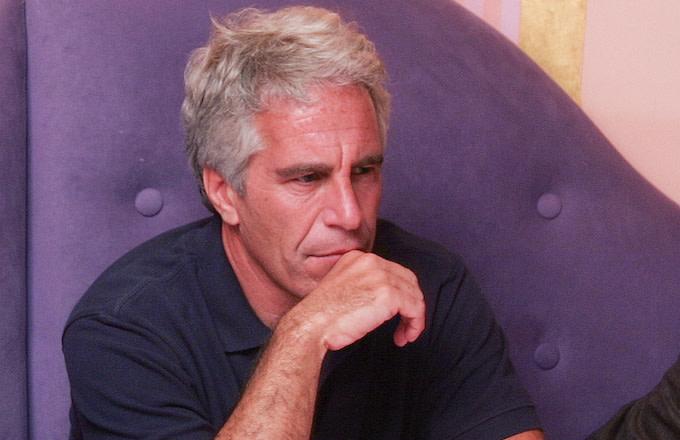Billionaire Jeffrey Epstein in Cambridge, Massachusetts.