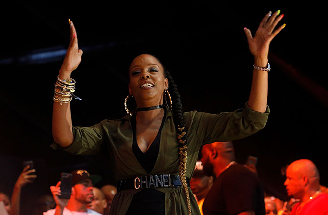 This is a photo of Rah Digga.