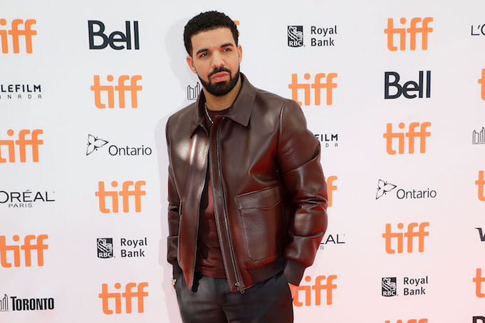 Drake at the Toronto International Film Festival