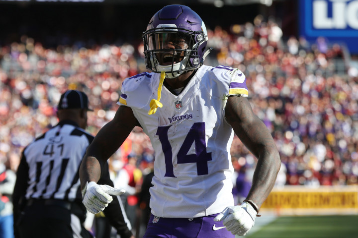 4b55584c Stefon Diggs, Known for Crazy Custom Cleats, is About to Break Out ...