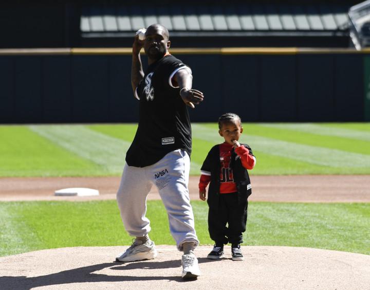 Kanye West Chicago White Sox