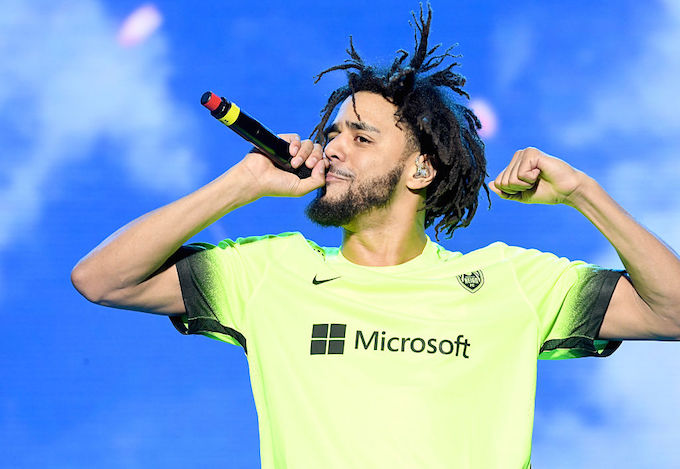 J  Cole Is the First Artist to Debut 3 Songs in Top 10 of Billboard