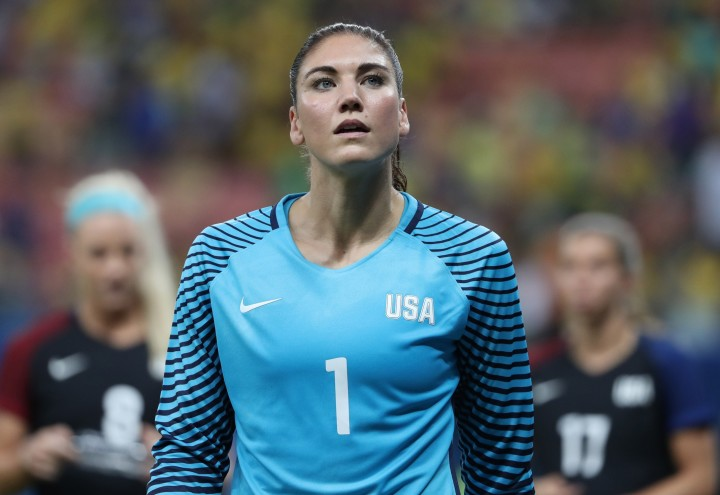Hope Solo Olmypics 2016 Rio Colombia