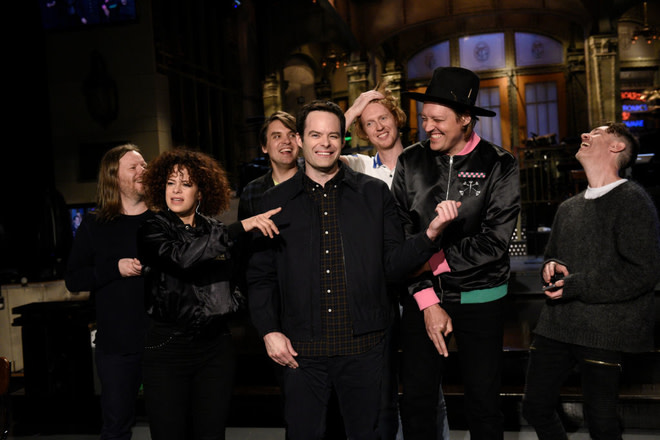 SATURDAY NIGHT LIVE -- Episode 1741 'Bill Hader' and Arcade Fire