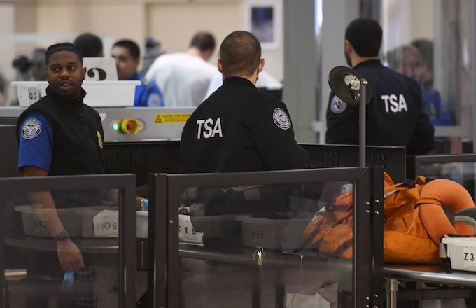 TSA Government Shutdown