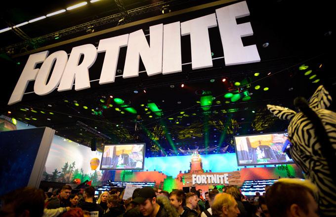 A Fortnite esports event in Poland