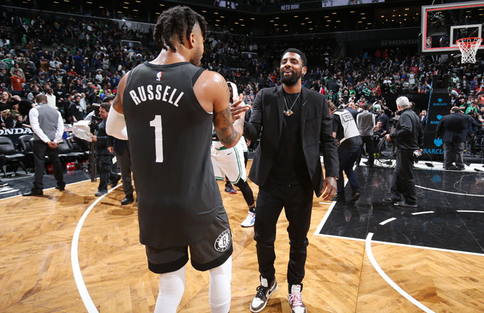 Image result for d'angelo russell kyrie irving