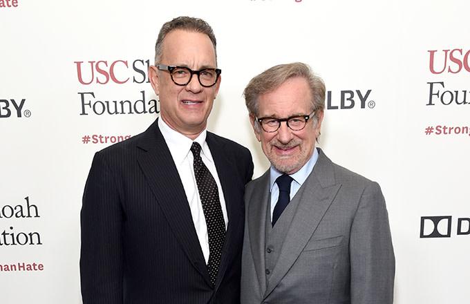 Tom Hanks and his pal Steven Spielberg