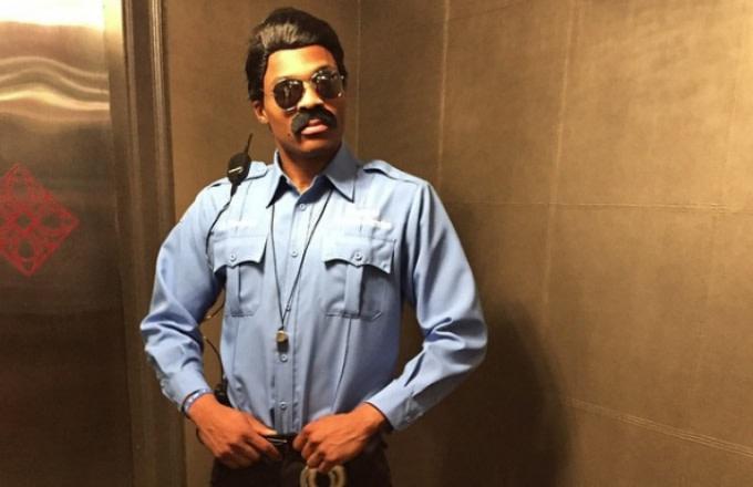 Russell Westbrook's 2014 Halloween costume.