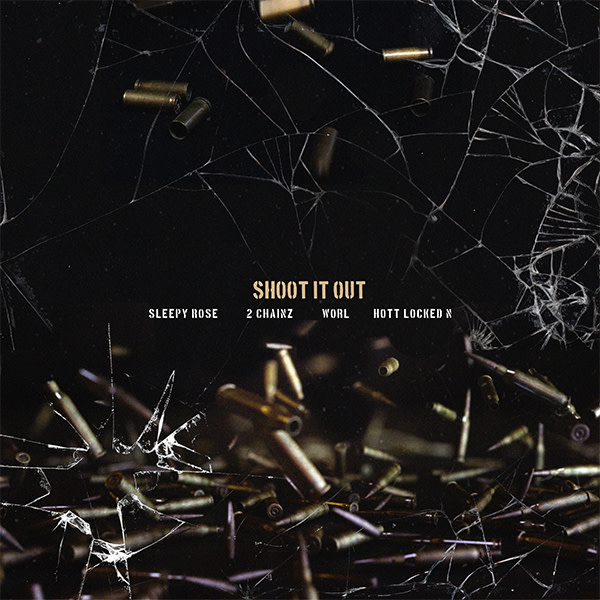 This is a photo of Shoot It Out artwork.