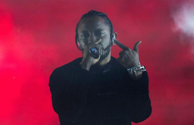 Kendrick at coachella