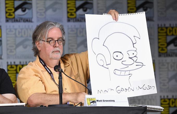 Matt Groening Apu Offended