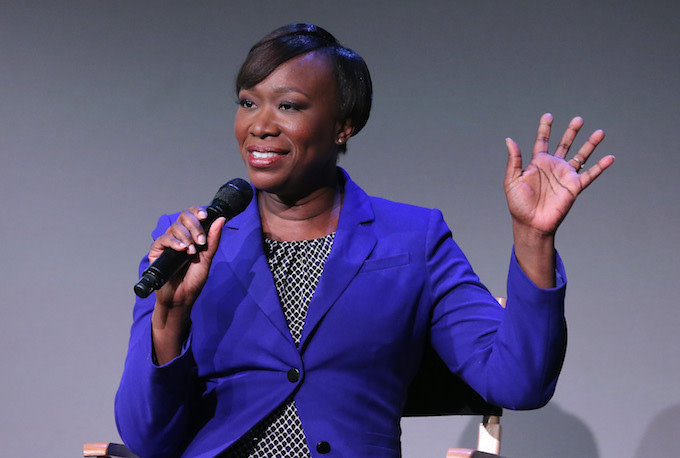 MSNBC host Joy Reid.