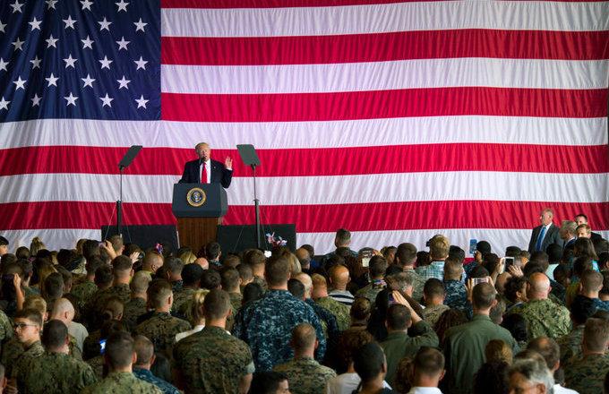 president-trump-military