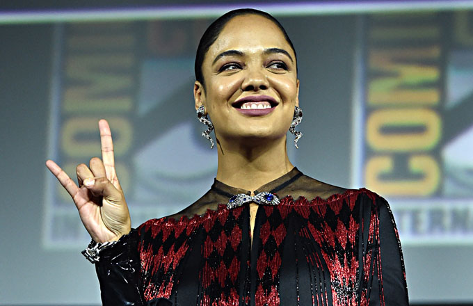 Image result for tessa thompson's valkyrie will be marvel's first LGBTQ superhero