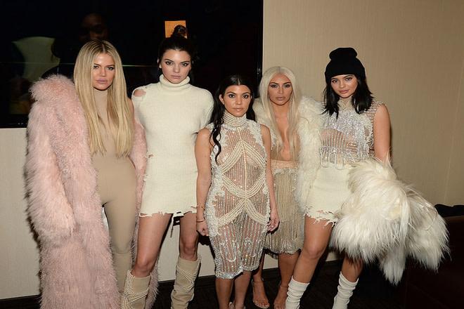 Kardashians at Kanye West Yeezy Season 3