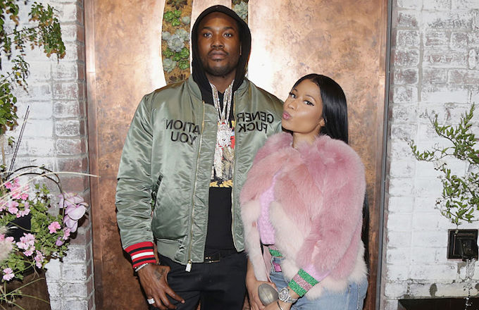 Meek Mill Tweets a Warning After Nicki Minaj Says She Could Expose