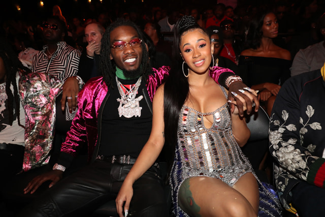 Offset and Cardi B attend the 2017 BET Hip Hop Awards