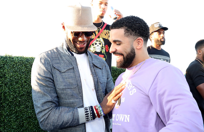 LeBron James, Drake
