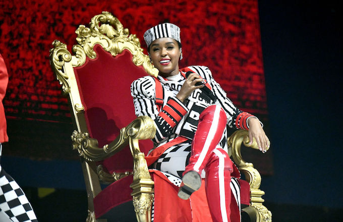 Janelle Monae lady and the tramp