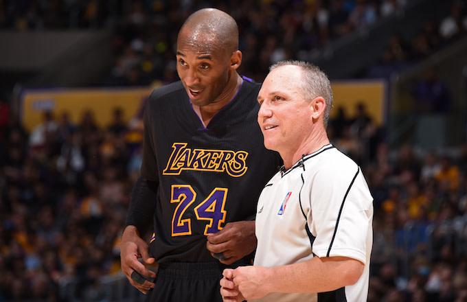 Kobe Bryant making his case